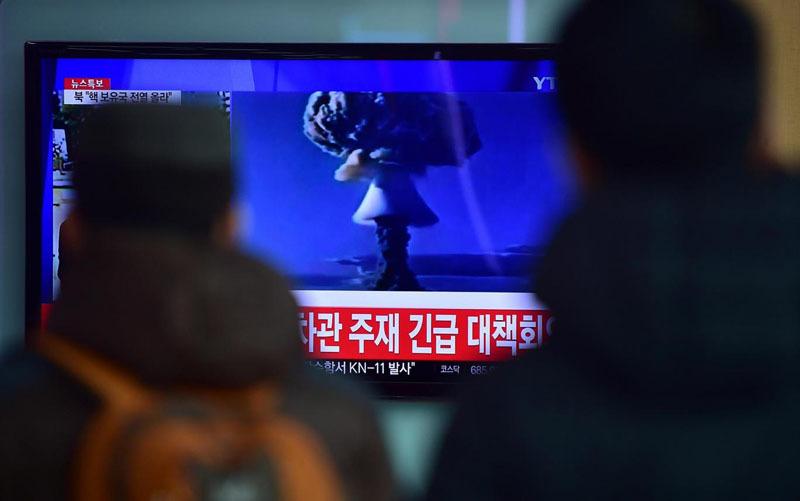 bom H, bom nhiệt hạch, thử hạt nhân, Triều Tiên, Kim Jong Un, trừng phạt, Hội đồng Bảo an, Hoa Xuân Oánh, quan hệ Trung – Triều