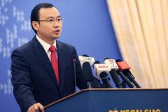 Yêu cầu TQ chấm dứt ngay vi phạm chủ quyền Việt Nam