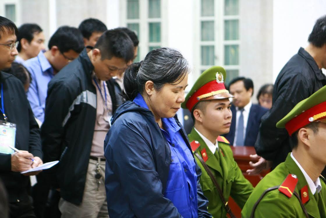 Nguyên nữ GĐ chi nhánh Agribank nhận 30 năm tù