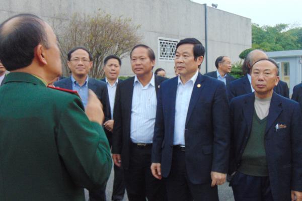 Bộ trưởng TT&TT thăm Bộ Tư lệnh Bảo vệ Lăng
