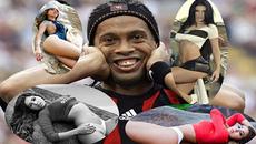 """Ronaldinho: """"Sex nhiều là chuyện của tôi!"""""""