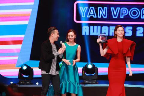 Một năm ngập ngụa scandal, Hà Hồ vẫn nhận giải Cống hiến