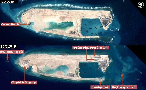 Yêu cầu Trung Quốc chấm dứt ngay hoạt động bay bất hợp pháp