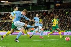 """Thắng """"3 sao"""", Man City thẳng tiến vòng 4 FA Cup"""