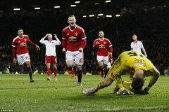 Rooney ghi bàn ở phút 93, M.U lê bước vào vòng 4