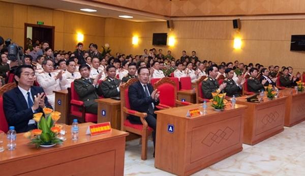 Trao quyết định của Chủ tịch nước thăng hàm cấp Tướng CAND