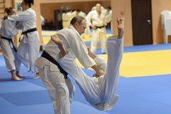 Putin bất ngờ thi triển 'tuyệt kỹ' Judo
