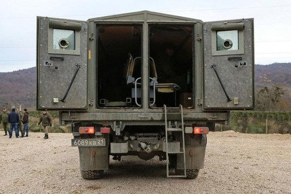 Xe tải đặc chủng chống đạn do Liên Xô chế tạo