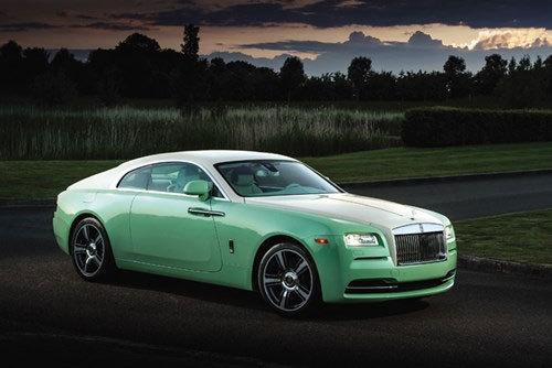 Thú chơi xe sang Rolls Royce