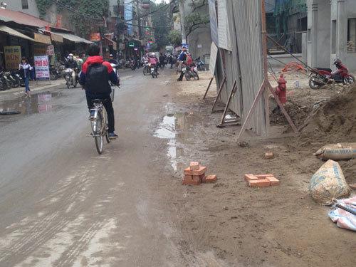 Dân Triều Khúc 'quằn quại' giữa đại công trường