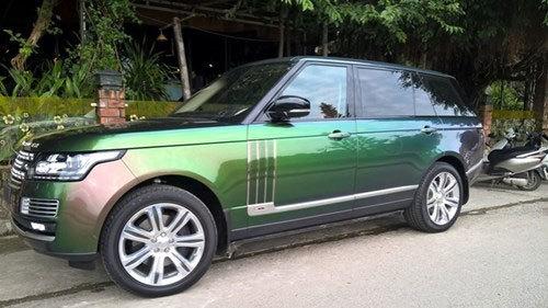 Đại gia Huế gây sốc với Range Rover giá 12 tỷ đồng