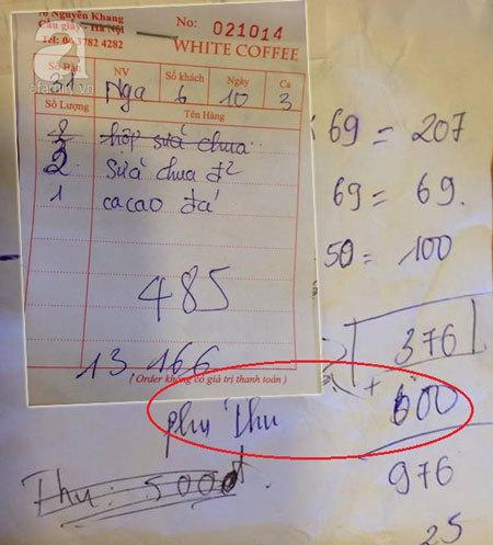Hà Nội: Quán cà phê bán '5 cốc sữa chua giá hơn 1 triệu'