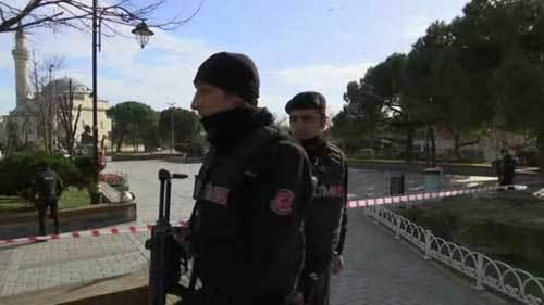 Nổ lớn tại Thổ Nhĩ Kỳ, nhiều người thiệt mạng