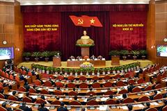 Trung ương thảo luận tờ trình của Bộ Chính trị về nhân sự