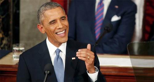 Obama tràn trề hy vọng về tương lai của Mỹ