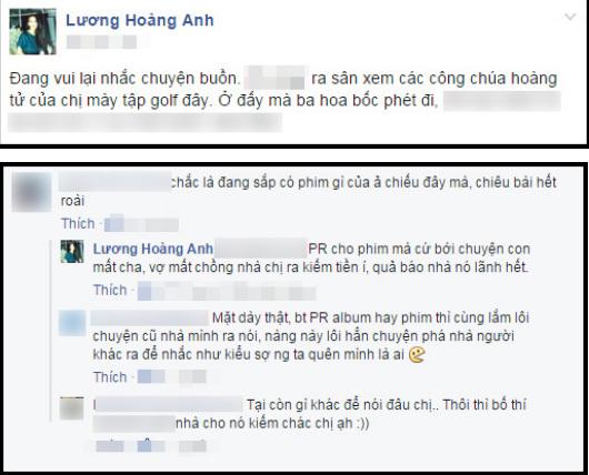 Vợ cũ Huy Khánh bức xúc 'dằn mặt' Kim Tuyến vì nhắc lại chuyện cũ