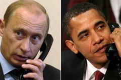 Putin - Obama bất ngờ điện đàm
