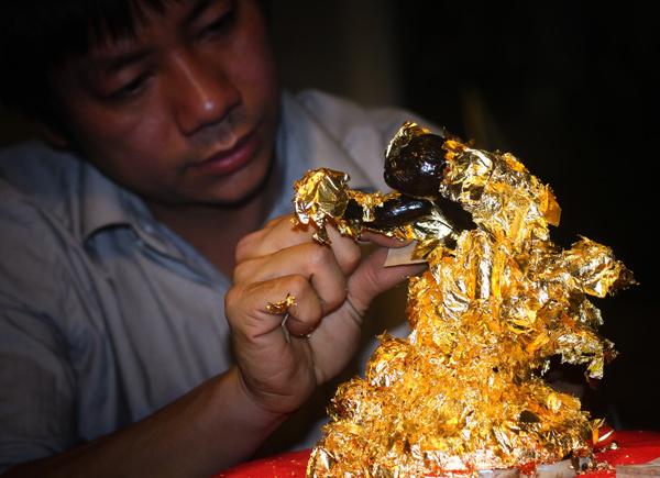 khỉ vàng kỳ linh Bính Thân , Kỳ Linh Bính Thân 2016 , khỉ vàng,