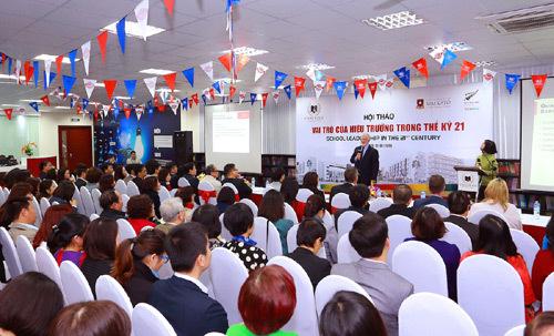 Hội thảo về vai trò hiệu trưởng tại Vinschool