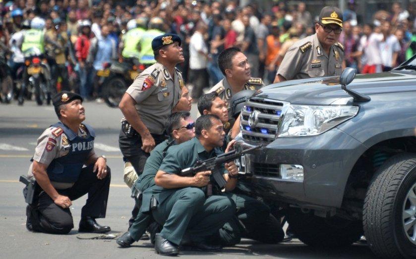 """IS """"nhận trách nhiệm"""" tấn công Jakarta"""