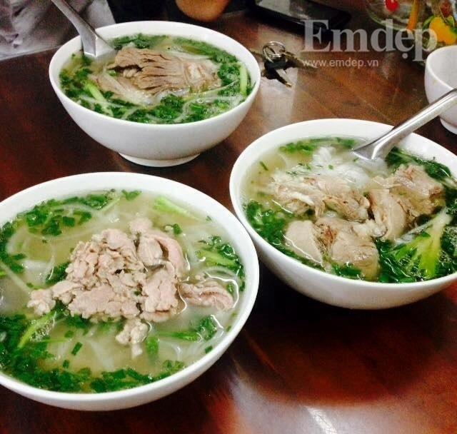 Những món ăn không thể bỏ lỡ trong tiết trời se lạnh ở khu vực Cầu Giấy