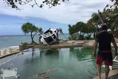 Thót tim trực thăng suýt rơi trúng khách du lịch