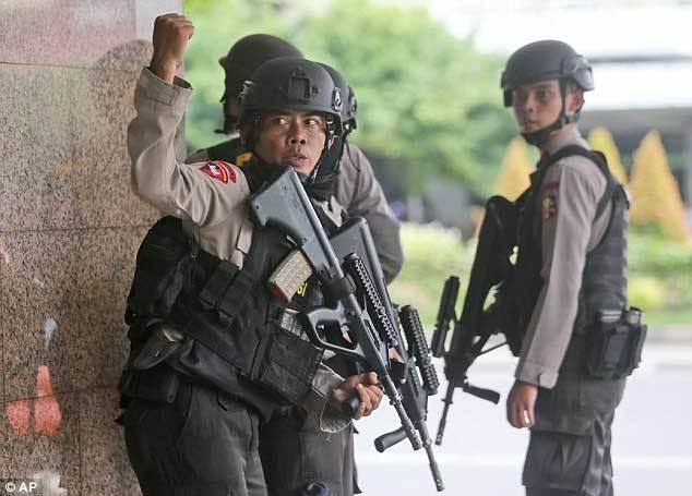 Từ khóa ớn lạnh của nhóm khủng bố Jakarta