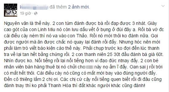 Tranh cãi quanh việc hotgirl Linh Miu bị đánh
