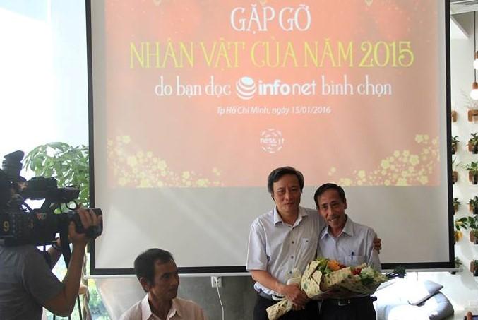 Tôn vinh người thầy kêu oan cho ông Huỳnh Văn Nén