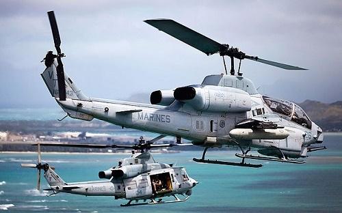 Trực thăng, Mỹ, thủy quân lục chiến, va chạm, Hawaii, Lực lượng Bảo vệ Bờ biển