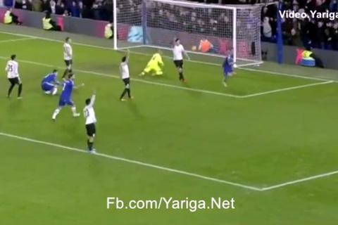Terry giật gót ghi bàn gỡ hòa 3-3 cho Chelsea