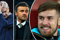Barca nhăm nhe cướp Ramsey khỏi Arsenal