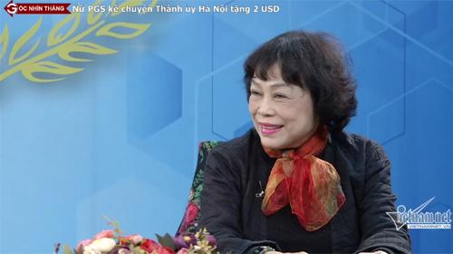 PGS kể chuyện Thành uỷ Hà Nội tặng 2 USD quà Tết