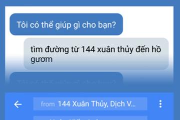 """Sinh viên phát triển ứng dụng """"trợ lý ảo"""" hiểu tiếng Việt"""