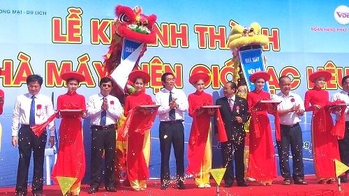 Khánh thành nhà máy điện gió lớn nhất Việt Nam
