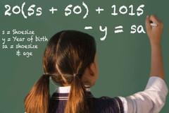 Bài toán 'huyền bí': Từ cỡ giày tính ra số tuổi