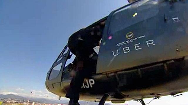 Uber bổ sung thêm 'taxi' trực thăng