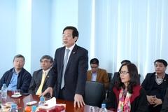 Bộ trưởng Nguyễn Bắc Son thăm báo VietNamNet