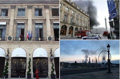 Cháy lớn ở khách sạn giữa lòng Paris