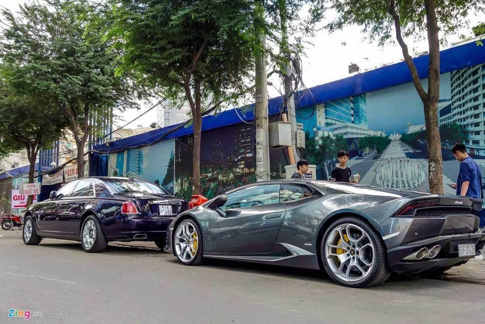 Dàn siêu xe triệu đô của đại gia Sài Gòn
