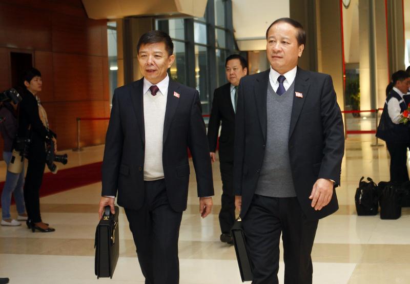 Hình ảnh đầu tiên đại biểu tới dự Đại hội