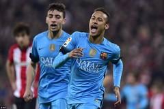 Vắng Messi và Suarez, Neymar cứu rỗi Barca