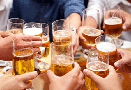 rượu bia, gây bệnh