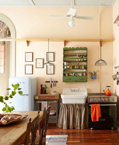 20160121165607 image012 Bài trí Shabby chic   phong cách nội thất tuyệt vời cho không gian nhà bếp