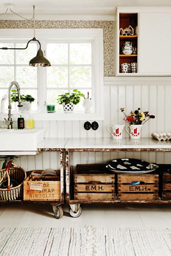 20160121165607 image017 Bài trí Shabby chic   phong cách nội thất tuyệt vời cho không gian nhà bếp