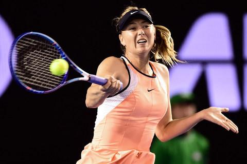 Pha tấn công của Sharapova khiến Davis xin hàng