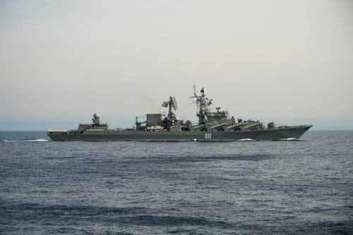 Nga phô diễn sức mạnh hải quân trên Địa Trung Hải