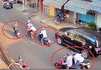 Bắt nhóm dàn cảnh va chạm, kéo lê nạn nhân trên phố