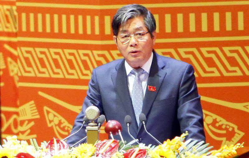 Bộ trưởng Bùi Quang Vinh 'dốc ruột' trước Đại hội