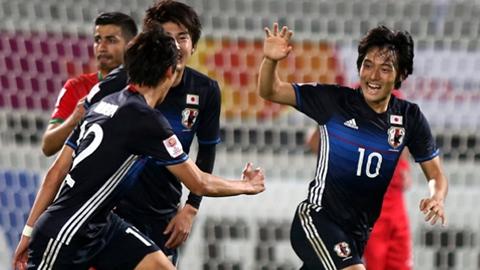 U23 Nhật Bản ghi 3 bàn ở hiệp phụ, giành vé bán kết